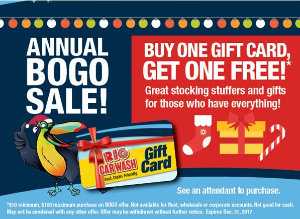 RIO's ANNUAL BOGO IS BACK!