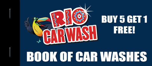 Complete Care Wash Book <br> Inludes 6 Car Washes