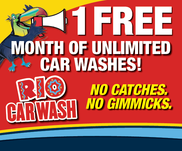 FREE Unlimited Car Washes